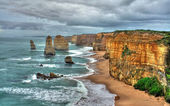 12 Apostles on the Great Ocean Road, Australia — Stock Photo