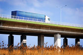 Truck on the highway — Stock Photo