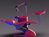 Dental chair — Stock Photo