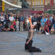 Stock Photo: Buskerbus Festival 2004 in Wroclaw - Poland