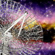 Stock Photo: Radiotelescope