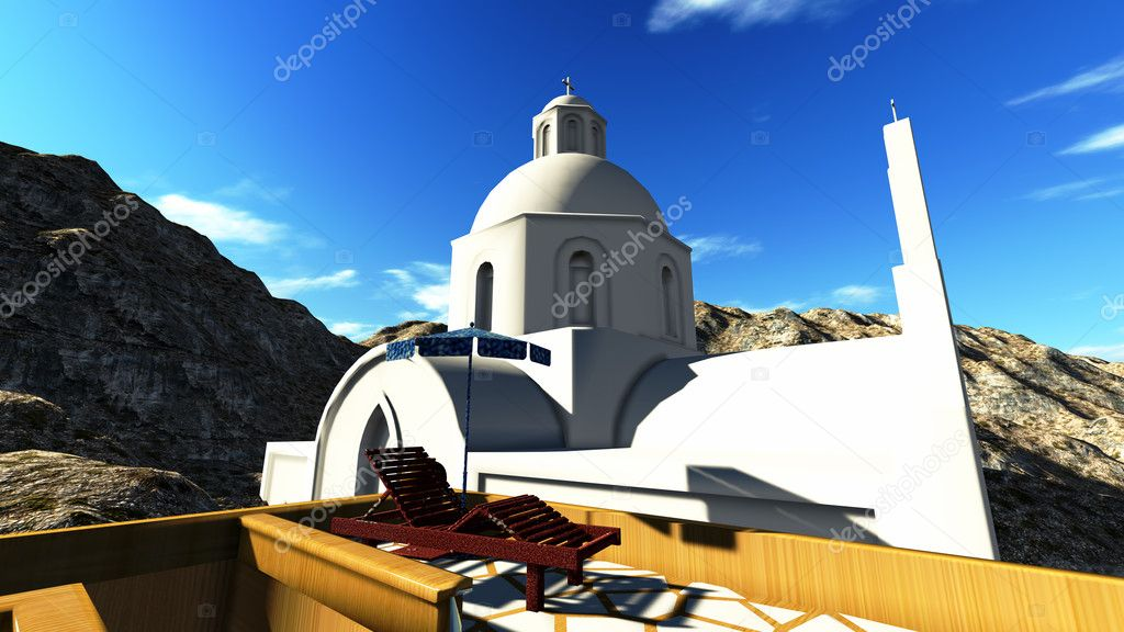 Santorini, Oia — Stock Photo #10681926