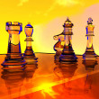 Chess battle — Stock Photo #9085254