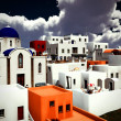 Greek village - Stock Photo