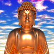 Gold Buddha — Stock Photo #9085280