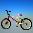 Professional freestyle bmx — Foto de stock #9085282