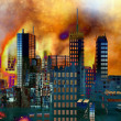 Armageddon in New York — Stock Photo