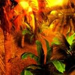 Morning fog in dense tropical rainforest — Stock Photo #9085751