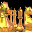 Chess battle — Stock Photo #9085932