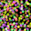 Defocused abstract  christmas background — Stock Photo