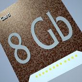 SD card — Stock Photo