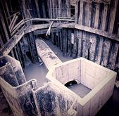 Excavation pit — Stock Photo