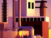 Modern factory — Stock Photo
