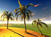 Hawaiian paradise — Stock Photo