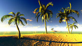 Hawajski raj — Zdjęcie stockowe