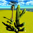Stock Photo: Saguaro Cactus