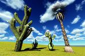 Saguaro Cactus — Stock Photo