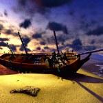 Shipwreck — Stock Photo