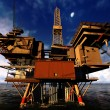 Oil platform — Stock Photo