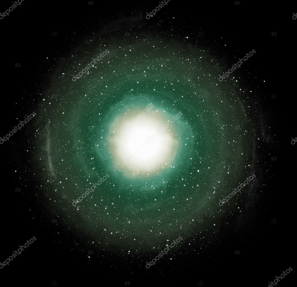 Spiral galaxy — Stock Photo #9616855