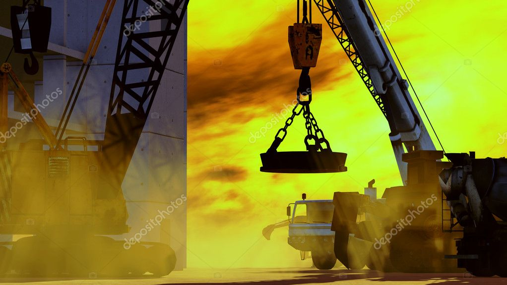 Construction site  Stock Photo #9675386