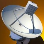 Large Array satellite dish antenna — Stock Photo