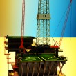 Oil platform — Stock Photo #9829743