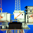 Oil platform — Stock Photo #9831074