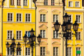 Market square tenements in Wroclaw, Poland — Stock Photo