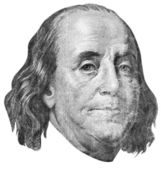 Benjamin franklin — Foto Stock