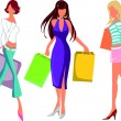 Shopping — Stock Vector #8906553