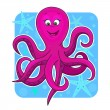 Cute octopus — Stock Vector #10415981