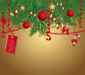 Christmas background — Vettoriale Stock