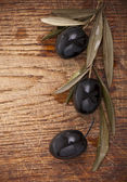 Black olives — Stock Photo