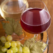 White and red wine — Stock Photo #10268925