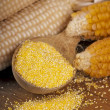 Stock Photo: Dry yellow corn