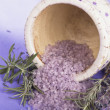 Spa Lavender cosmetics — Stock Photo #8699613