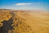 Ruins of Masada fortress, Israel — Stock Photo