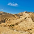 Israel. Sandy mountains - Stock Photo