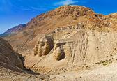 Caves of Qumran, Israel — Stock Photo