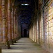 Fountains Abbey in North Yorkshire, England — Stock Photo