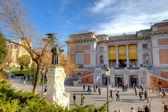 Prado Museum in Madrid, Spain. — Stock Photo