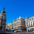 City scene in central Madrid — Stock Photo #9423451