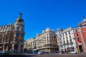 City scene in central Madrid — Stock Photo