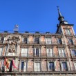 Plaza Mayor in Madrid - Stock Photo