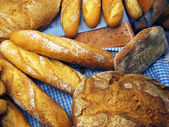 Chléb zátiší — Stock fotografie