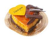 Valentijn taart — Stockfoto