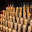 Stock Photo: Church candles