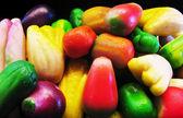 Marzipan fruits — Stock Photo