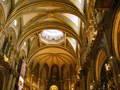 Montserrat church — Stock Photo